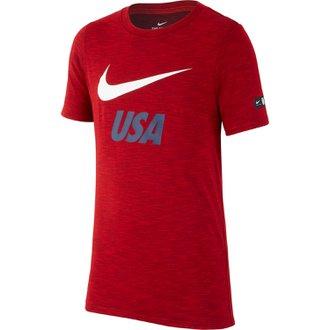 Nike Estados Unidos Camiseta Slub para niños
