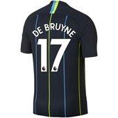 Nike Manchester City De Bruyne Away 2018-19 Stadium Jersey