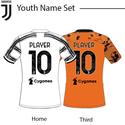 Juventus 20-21 Youth Nameset