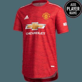 Adidas Manchester United Jersey Autentica de Local 20-21