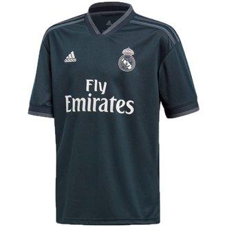 adidas Real Madrid Jersey Replica de Visitante para Niños 18-19