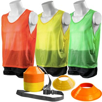 b94aa7722 Kwik Goal Hi Vis Mini Cone and Vest Kits