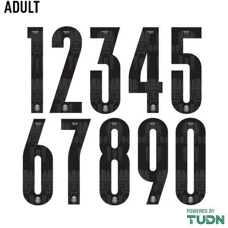 Chivas 2020-21 Adult Numbers