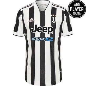 adidas 21-22 Juventus Home Auth Jrsy