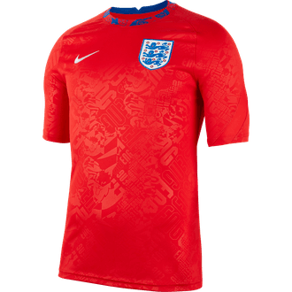 Nike England Short Sleeve Pre-Match Top