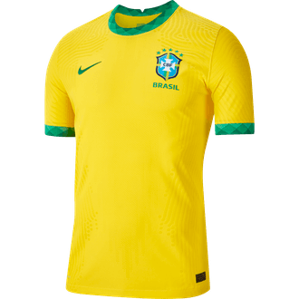 Nike Brazil Jersey Autentica de Local 2020