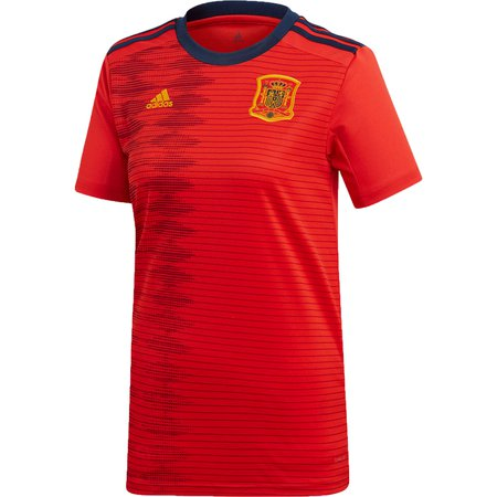 adidas Spain 2019 World Cup Home Women's Stadium Jersey