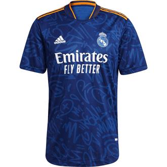 adidas Real Madrid Jersey Auténtica de Visitante 21-22