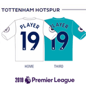 Tottenham Spurs 2019 Name Set