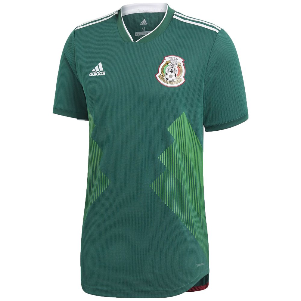 pretty nice 7ac8b f6b1e adidas Mexico 2018 World Cup Home Authentic Jersey ...