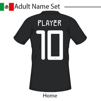 Mexico 2020 Adult Name Set