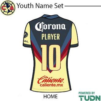 Club America 20-21 Youth Namesets