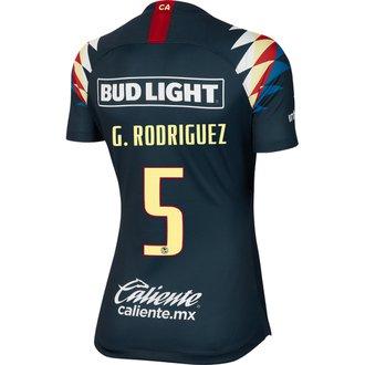 Nike Club América Rodriguez Jersey Visitante 19-20 para Damas