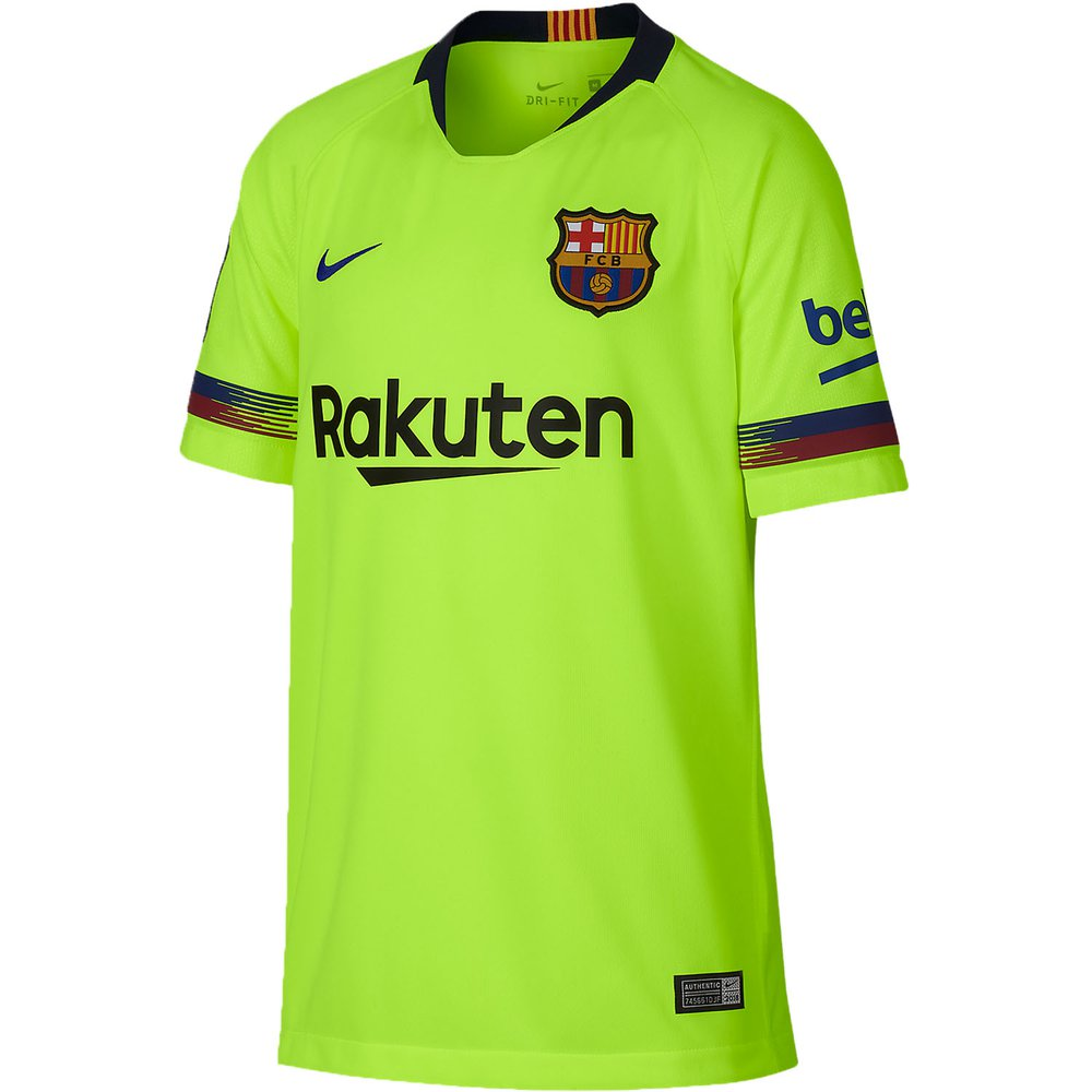 fa9a3fb60 Nike FC Barcelona Away 2018-19 Youth Stadium Jersey. Item Desc Product