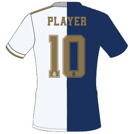 Real Madrid 2019 Adult Name Set Patch