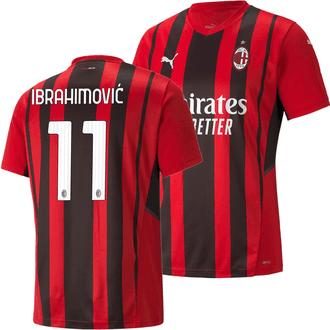 Puma AC Milan Zlatan Ibrahimovic Home 2021-22 Replica Jersey