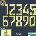 Club America 21-22 Adult Back Number