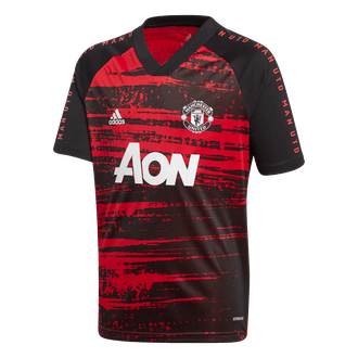 Adidas Youth 2020-21 Manchester United Pre-Match Top
