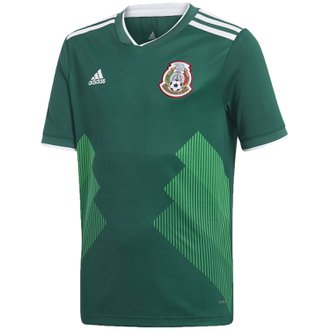 adidas Mexico 2018 World Cup Home Youth Replica Jersey