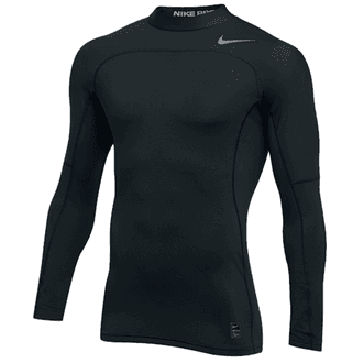Nike Pro Hyperwarm Long Sleeve Compression Mock Top
