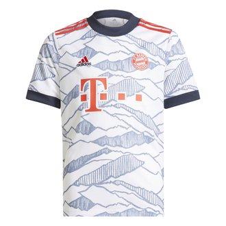 adidas Bayern Munich 2021-22 Youth 3rd Stadium Jersey