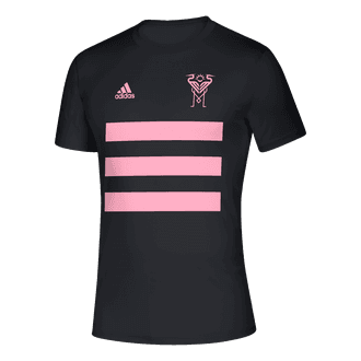 adidas 2021 Inter Miami 3 Stripe Tee