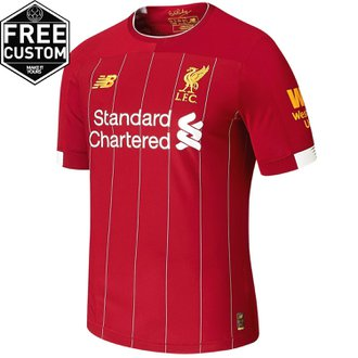 New Balance Liverpool FC 2019-20 Authentic Home Jersey