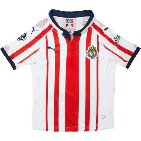 Puma Chivas Jersey de Local para Niños 18-19