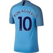 Nike Manchester City Kun Aguero Home 2018-19 Stadium Jersey