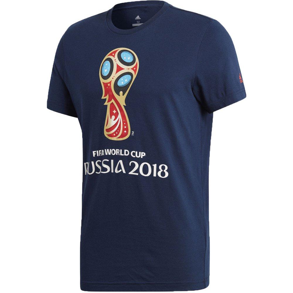 67c0dac71d0 adidas FIFA World Cup 2018 Emblem Tee | WeGotSoccer
