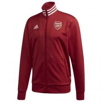 Adidas Arsenal 3 Stripe Track Top Full Zip