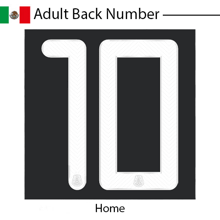 Mexico 2020 Adult Back Number