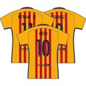 FC Barcelona 2016 Youth Name Set Patch